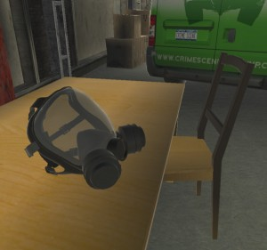 Screenshot from NCSCA's upComing VR experience
